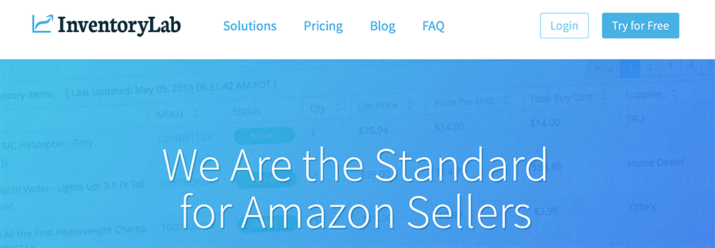 InventoryLab a great tool for Amazon Sellers