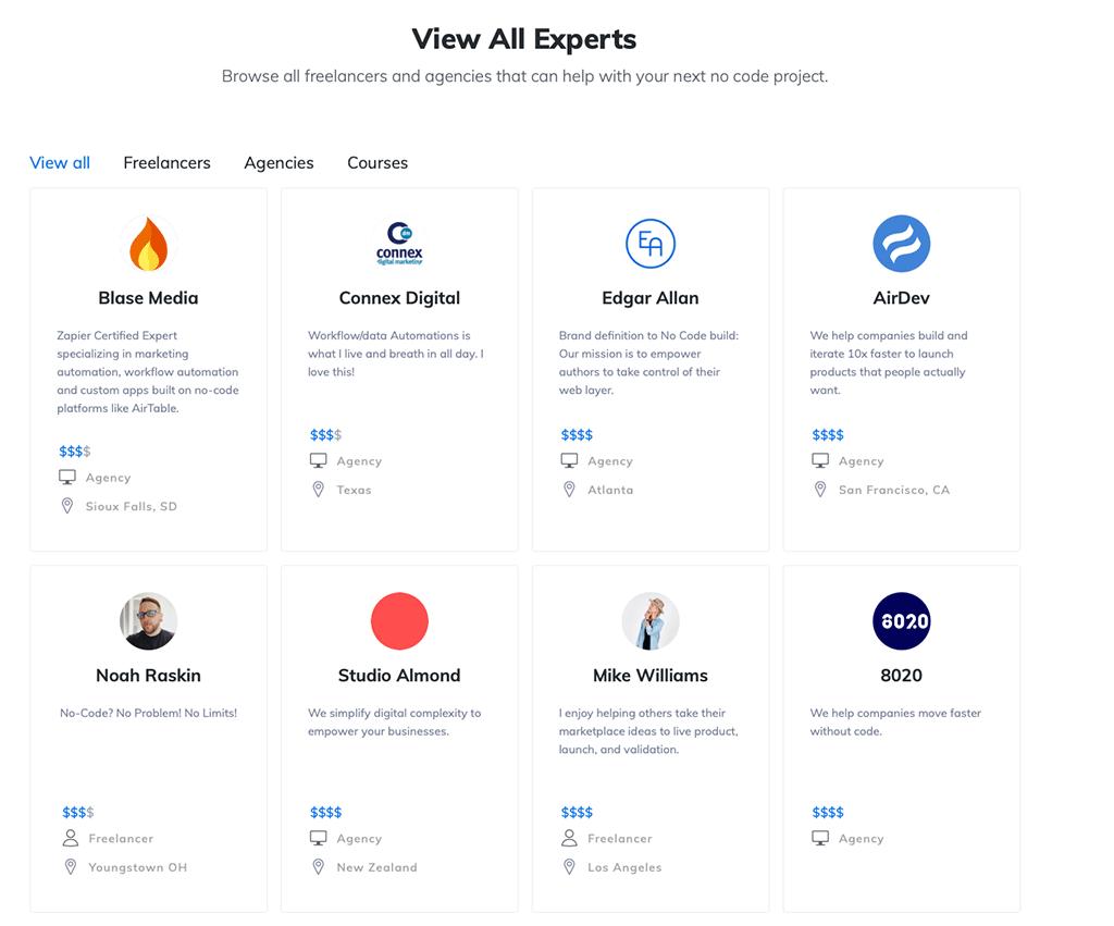 Makerpad Experts