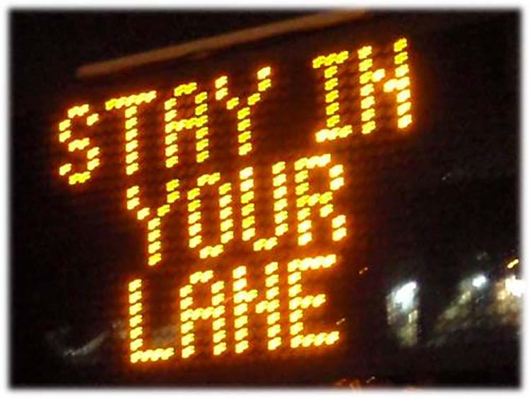 Stay in your lane bro!